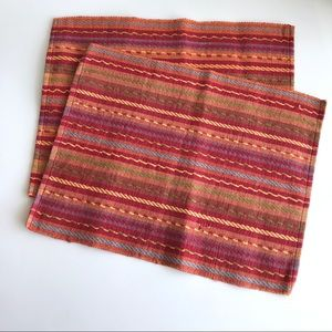 Bobby Flay Serape Woven Placemats (Set of 2)